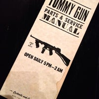 Photo taken at Tommy Gun by Zoey P. on 5/26/2013