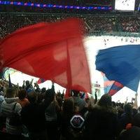 Photo taken at Дворец спорта СКА by Алена Б. on 10/29/2012