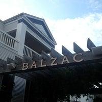 Photo taken at Balzac by Daniel on 7/4/2013