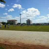 Photo taken at Centro Esportivo Jardim Simus by Joana U. on 4/21/2013