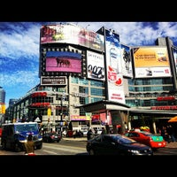 Photo taken at Yonge-Dundas Square by Marcello S. on 10/27/2012