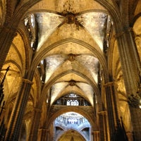 Photo taken at Cathedral of Saint Eulalia of Barcelona by )|( aXxel on 7/2/2013