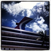 Photo taken at Carnival Victory by Jorge C. on 7/4/2013