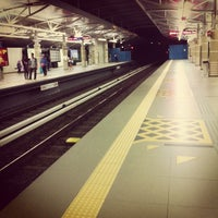 Photo taken at RapidKL Hang Tuah (ST3) LRT Station by Nicholas Yeoh W. on 11/2/2012