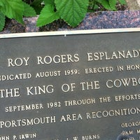 Photo taken at Roy Rogers Esplanade by Wayne A. on 7/18/2013