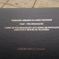 Das Foto wurde bei Pós Graduação FAAP von Lucelma O. am 11/3/2015 aufgenommen