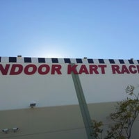 Photo taken at Fast Lap Indoor Kart Racing by Aman A. on 1/21/2013