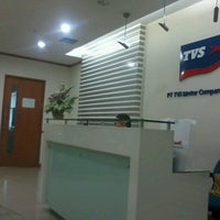 Photo taken at TVS Motor Company by Jules L. on 7/30/2013