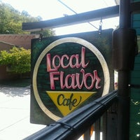 Photo taken at Local Flavor Cafe by Cat F. on 9/23/2012
