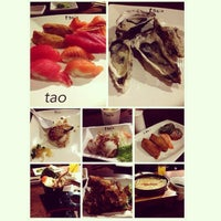 Photo taken at Tao Authentic Asian Cuisine 道 by Evone W. on 10/3/2013