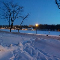 Photo taken at Victory Park by Val M. on 1/25/2013