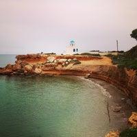 Photo taken at Agios Nikolaos by Eleni👑 S. on 3/31/2013