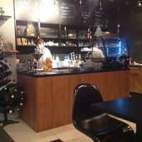 Photo taken at Cafe Bez Pośpiechu by Lukas D. on 1/8/2014