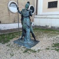 Photo taken at Museo Carlo Bilotti - Aranciera di Villa Borghese by Stefano on 8/26/2015