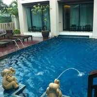 Photo taken at Royal Thai Pavilion Jomtien Boutique Resort by bow r. on 7/20/2013