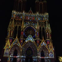 Photo taken at Our Lady of Reims by Sebnem T. on 7/12/2013