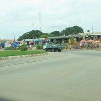 Photo taken at Ejisu Rounabout by Kwasi A. on 7/17/2013