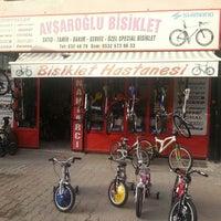 Photo taken at Avşaroğlu Bisiklet by Volkan Y. on 4/5/2013
