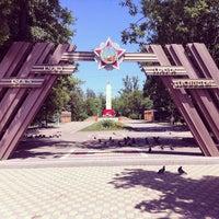 Photo taken at Парк Победы by Павел Б. on 5/31/2014