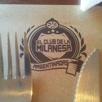 Foto tomada en El Club de la Milanesa por Lucio B. el 6/30/2013
