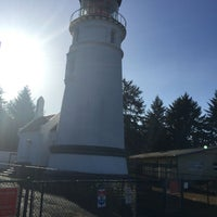Photo taken at Umpqua Lighthouse State Park by Sandy P. on 9/21/2016