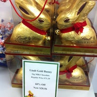 Photo taken at Lindt Chocolate by Nar C. on 4/16/2013