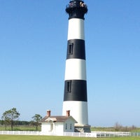Photo taken at Bodie Island Lighthouse by Thomas H. on 7/18/2013