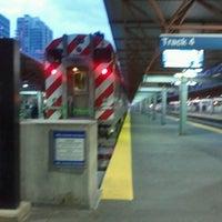 Photo taken at Metra - LaSalle Street by Julie B. on 10/25/2012