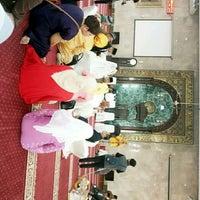 Photo taken at Masjid Agung Sunda Kelapa by Esther M. on 4/2/2017