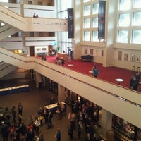 Photo taken at Centennial Concert Hall by Mike H. on 4/12/2013