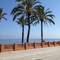 Photo taken at Playa Santa Ana by Salavat B. on 8/20/2013