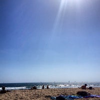 Photo taken at Santa Monica Beach Tower 29 by Hannah on 6/22/2013