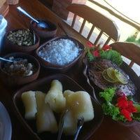 Photo taken at Restaurante Tupi - Sabores da Fazenda by Afonso S. on 4/6/2013