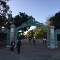 Photo taken at Sather Gate by Vera U. on 4/30/2017