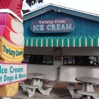 Photo taken at Twisty Cone Ice Cream & Cakes by thomas c. on 12/6/2013
