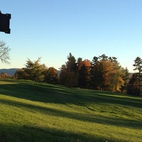 Photo taken at Cranwell Resort, Spa and Golf Club by Anne M. on 10/11/2012