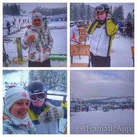 Photo taken at Hotel Bukovina by Daria D. on 12/30/2014