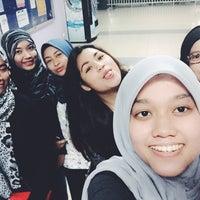 Photo taken at kandang bistro,UiTM Puncak Perdana. haha by Lyna R. on 6/13/2015