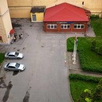 Photo taken at Дворик РАНХиГС (СЗАГС) by максим с. on 5/24/2013