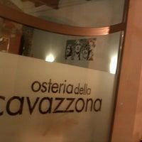 Photo taken at Osteria Della Cavazzona by silvia c. on 10/8/2012
