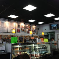 Photo taken at The Bagel Store by Zina A. on 3/22/2013