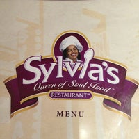 Photo taken at Sylvia's Restaurant by Zina A. on 3/23/2013
