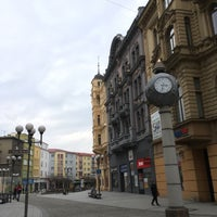 Photo taken at Ostrožná   Pěší zóna by Ajamiau 🐱 on 3/9/2017
