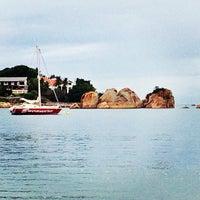 Photo taken at Praia do Canto by John B. on 3/31/2013