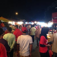 Photo taken at Pasar Malam Seksyen 17 by Alarmist W. on 1/21/2014