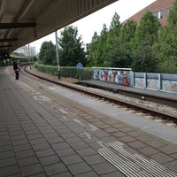 Photo taken at Station Amsterdam Muiderpoort by Marcel H. on 9/17/2012