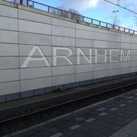 Photo taken at Station Arnhem Centraal by Marcel H. on 11/29/2012