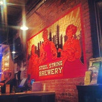 Photo taken at Steel String Brewery by Uri F. on 10/3/2013