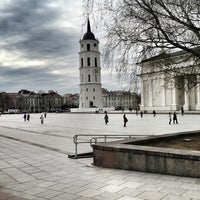 Photo taken at Cathedral Square by Oleg on 4/29/2013