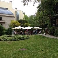 "Photo taken at Café Restaurant ""Wintergarten"" by Powen S. on 5/21/2013"